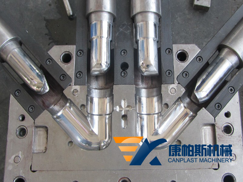 Injection molds for PVC pipe fittings